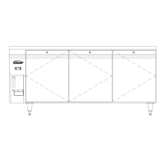 Bakery Counter Remote B3R(J)