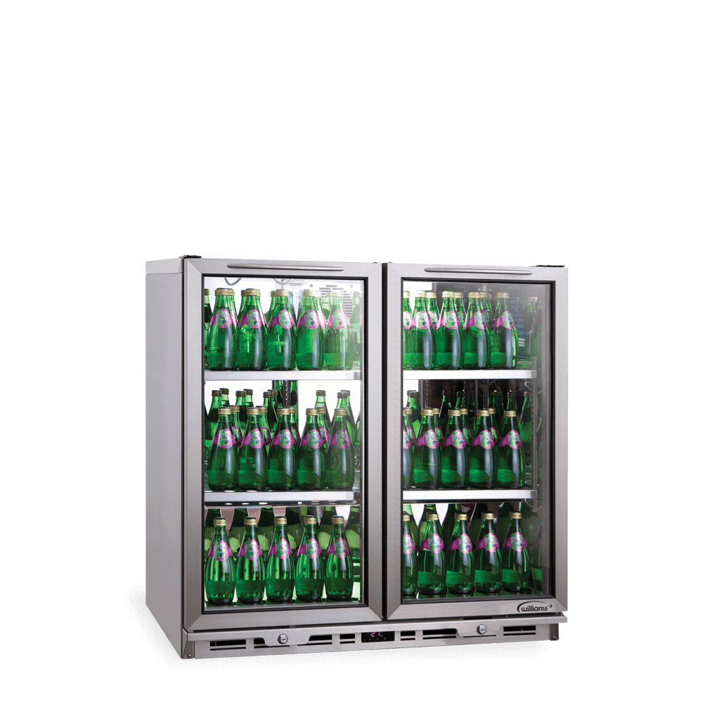 Counter Bottle Cooler 2 Doors BC2