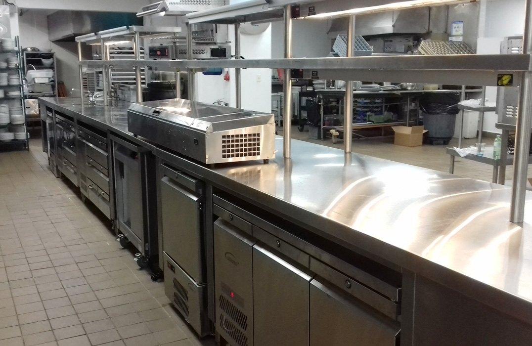 Interior kitchen shot at Renaissance Carambola Beach Resort