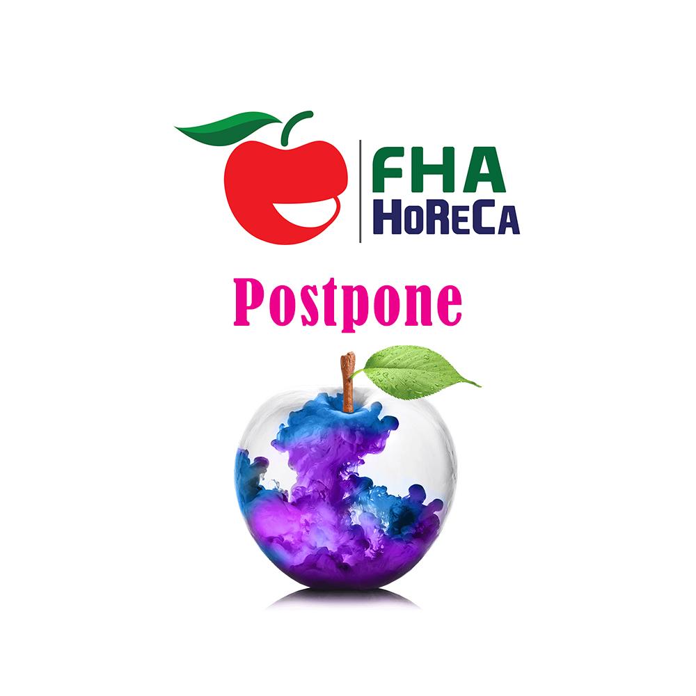 FHA HORECA postponed Feb 2020.